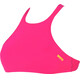 arena Crop Think Swimsuits Women fresia rose-yellow star